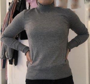 Grauer Rollkragen Pullover von H&M
