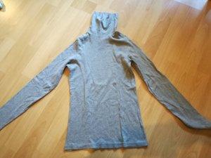 Grauer Rollkragen Sweatshirt Pullover ZARA