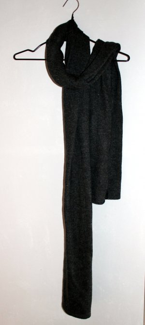 H&M Knitted Scarf anthracite
