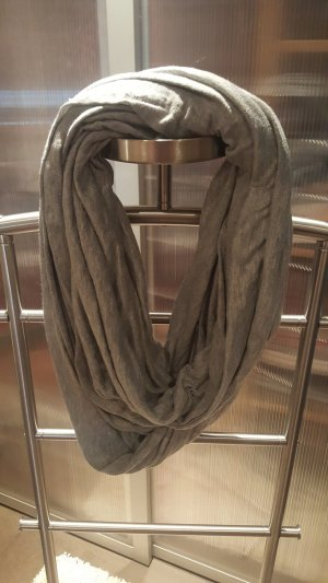 H&M Bufanda tubo gris claro