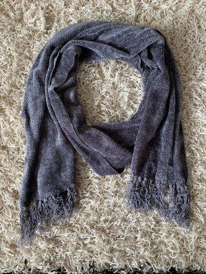 Knitted Scarf dark grey-anthracite