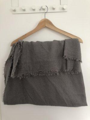 Zara Écharpe en tricot gris