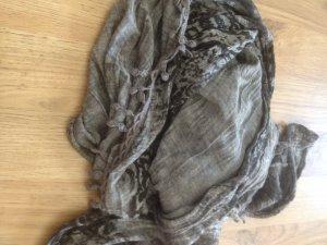 Sjaal grijs-antraciet