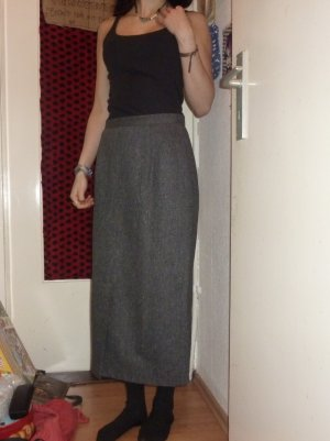 Wool Skirt anthracite-dark grey wool