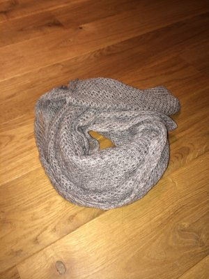 H&M Tube Scarf silver-colored
