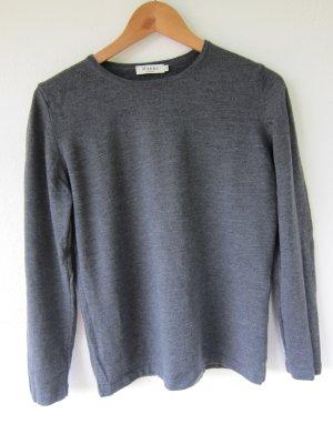 Wollen trui grijs Scheerwol