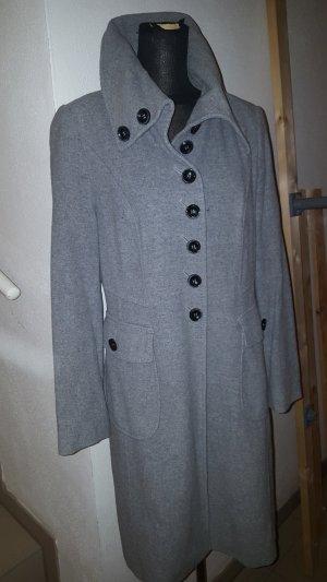 Taifun Cappotto in lana grigio chiaro