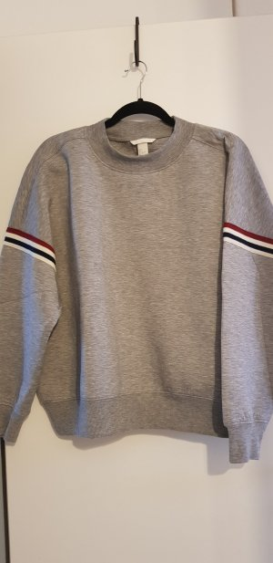 Grauer Scuba Sweater H&M Gr. L Sweatshirt