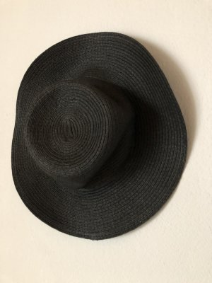 H&M Sombrero de ala ancha gris-gris oscuro
