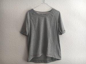C&A Short Sleeve Sweater light grey