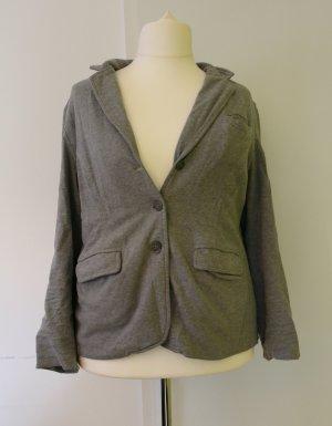 Grauer Stoff-/Jersey-Blazer von Eddie Bauer, Größe XL/ 48