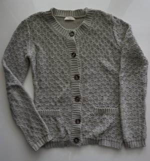 grauer Strick Cardigan in S