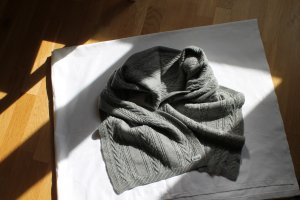 Roeckl Knitted Scarf grey