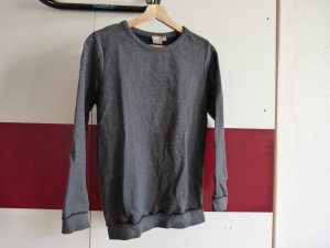 Asos Sweatshirt donkergrijs Gemengd weefsel