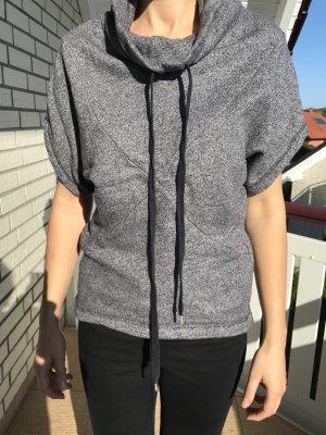 Esprit Sweater met korte mouwen donkergrijs