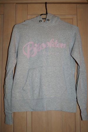 grauer Sweatshirt mit Kapuze