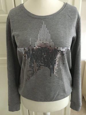 Grauer Sweatshirt Pullover von Esprit