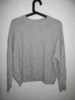 Grauer Topshop Pullover