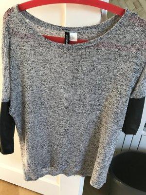 Grauer transparenter Pullover zu verkaufen