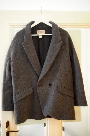 Abrigo de lana multicolor Lana