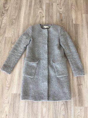 H&M Cappotto invernale grigio chiaro