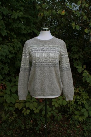Atmosphere Pull tricoté gris clair-gris