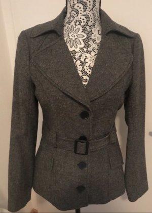 Promod Wool Blazer grey-dark grey