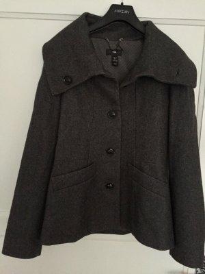 Grauer Wollmantel (Herbst/Winter) H&M