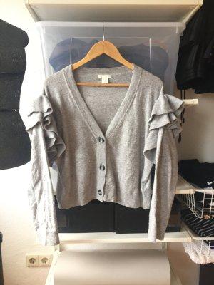 H&M Jersey de lana gris claro-gris tejido mezclado