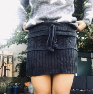 Wool Skirt grey