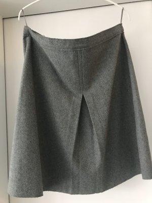 Grauer Wollrock von FFC Größe 38
