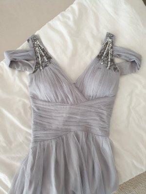 graues Abendkleid von Little Mistress