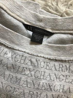 Armani Exchange Shirt lichtgrijs-zilver