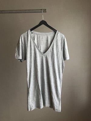 Graues Basic Shirt