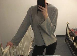 graues Basic Sweatshirt Zara