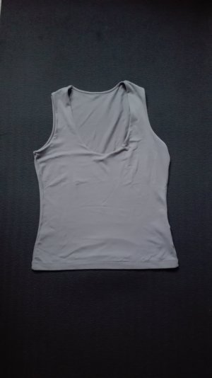 Graues Basic Top von Closed Gr. M