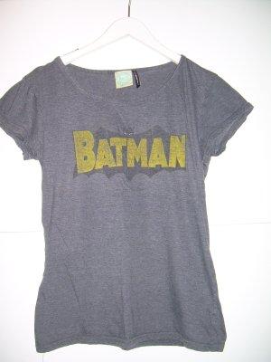 graues Batman T-Shirt von Fishbone Gr. XL 42 used look