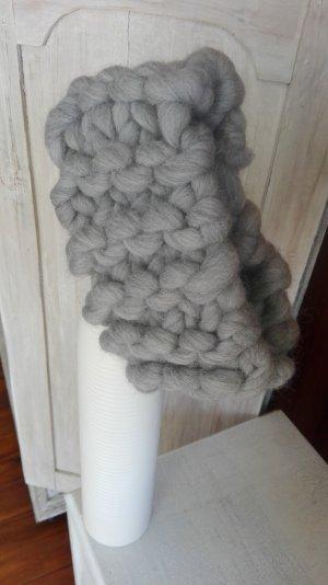 Cache-oreilles argenté laine