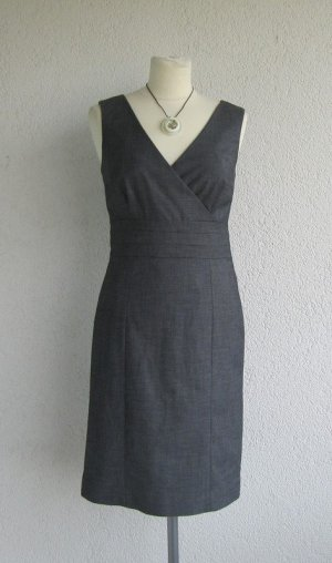 Graues business Kleid knielang H&M Modern Classic in Gr. 38