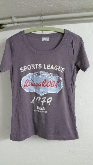 Graues damen T-shirt