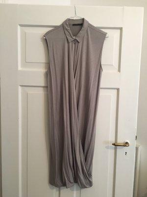 COS Abito blusa camicia grigio chiaro