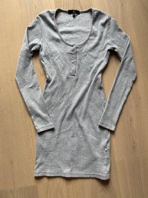 Graues enganliegendes Kleid von missguided