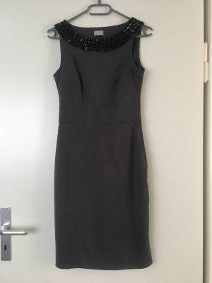 H&M Sheath Dress grey-black