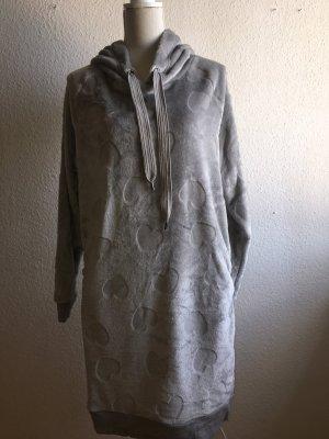 Hunkemöller Robe de chambre gris-gris clair