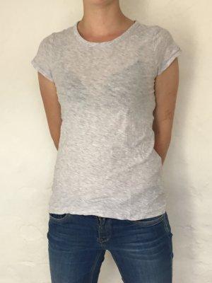 Graues H&M Shirt mit Kreisausschnitt