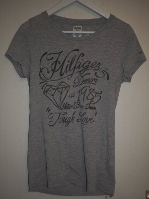 Graues Hilfiger Denim Shirt