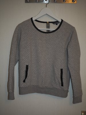 Tommy Hilfiger Sweat Shirt silver-colored-black cotton