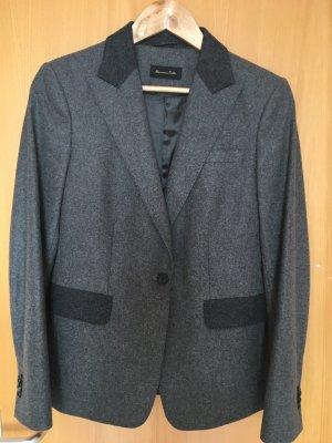 Graues Jacket von Massimo Dutti