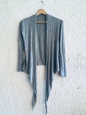 Giacca-camicia grigio chiaro-grigio Cotone