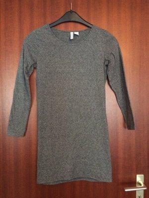 Graues Jersey Kleid :)